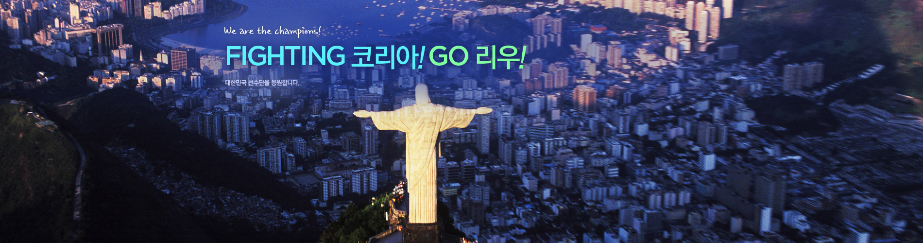 Fighting 코리아! Go 브라질!